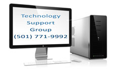 Technology Support Group sells and services Graphic Work Stations for the Little Rock, AR area.